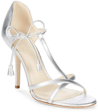 Frances Valentine Metallic Leather Stiletto Pump