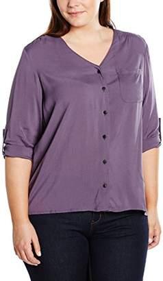 Zizzi Women's O10574A Long Sleeve T-Shirt