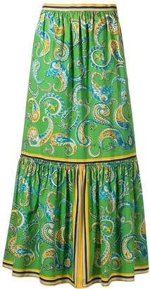 Philosophy di Lorenzo Serafini long paisley skirt