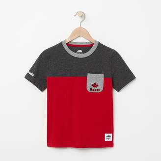 Roots Boys Canada Colourblock T-Shirt