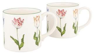Tiffany & Co. & Co. Pair of Tulips Mugs