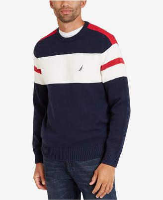 Nautica Men's Challenger Stripe Sweater