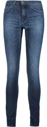 Acne Studios Skin 5 Urban Faded Mid-Rise Skinny Jeans