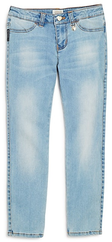 Armani Junior Armani Junior Girls' Light Wash Jeans - Sizes 7-16