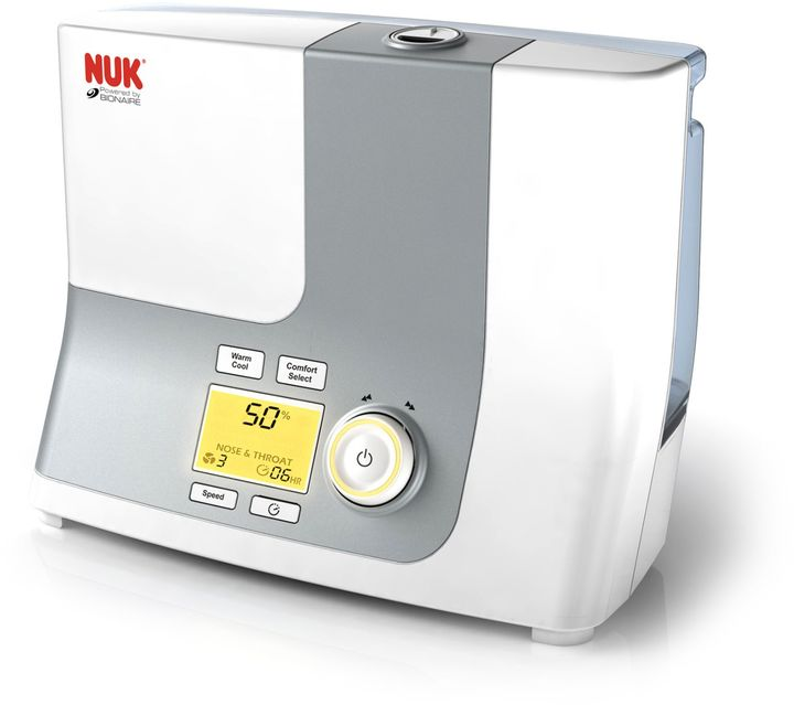 NUK® Powered by Bionaire® Warm and Cool Mist Ultrasonic Humidifier