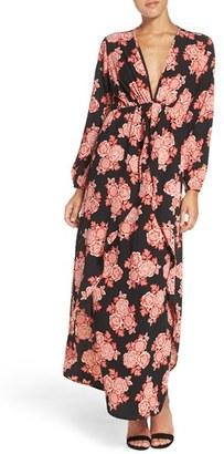 Women's Fraiche By J Floral Maxi Dress $128 thestylecure.com