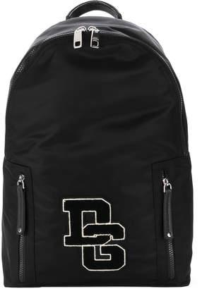 Dolce & Gabbana Nylon Backpack With Logo