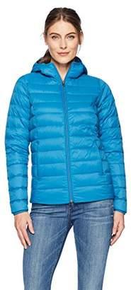 Amazon Essentials Women's Lightweight Water-Resistant Packable Hooded Down Jacket