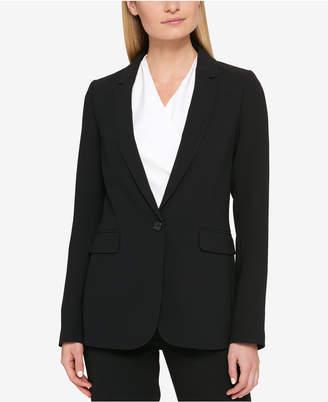 DKNY One-Button Blazer