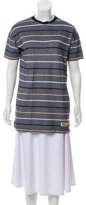 MAISON KITSUNÉ Linen Mini Shirtdress