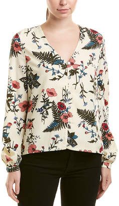 Lucca Couture Floral Blouse