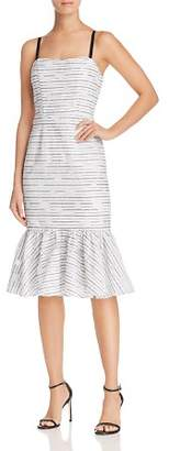 Milly Molly Printed Ruffle-Hem Dress