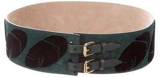 Burberry Printed Waist Belt