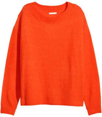 H&M Fine-knit Sweater - Orange