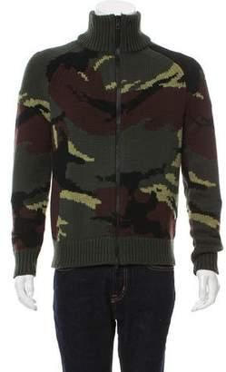 Rag & Bone Camouflage Zip Cardigan
