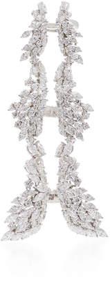 Yeprem Chevalier Long Diamond Ring