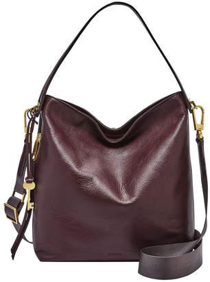 Fossil ZB7285503 Maya Zip Top Hobo Bag