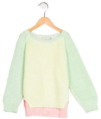 Stella McCartney Girls' Knit Long Sleeve Sweater