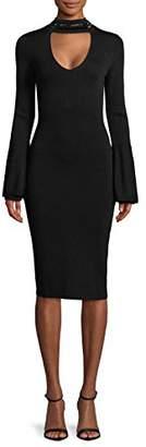 Rachel Roy Women's Bell Sleeve Sweater Dress