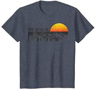 Retro Idaho Springs Colorado T-shirt