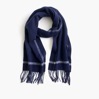 J.Crew Contrast cashmere scarf