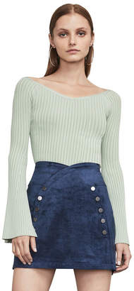 BCBGMAXAZRIA Zoee Off-The-Shoulder Sweater