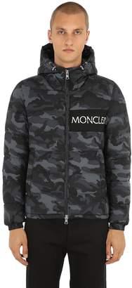 Moncler Aiton Camo Nylon Down Jacket