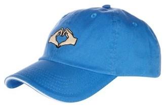 Women's Topshop Heartbreak Baseball Cap - Blue $20 thestylecure.com