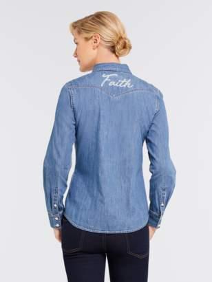 Draper James Faith Chambray Shirt