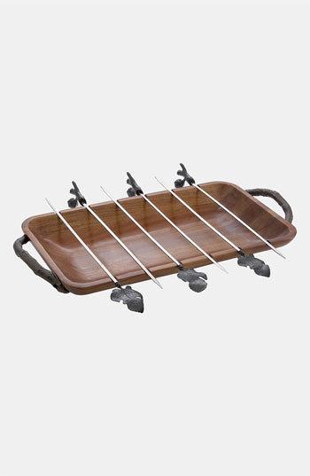 Michael Aram 'Fig Leaf' Grilling Platter Set