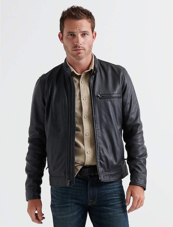 Lucky Brand LEATHER BONNEVILLE