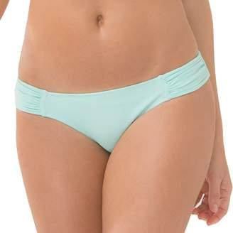 Smart & Sexy Smart+Sexy Women's Swim Secret Side Ruched Bikini Bottom