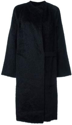 Helmut Lang 'Shaggy' long coat