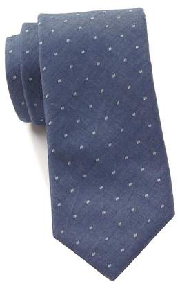 Tommy Hilfiger Chambray Dot Tie