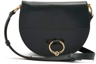 J.W.Anderson Latch halfmoon leather cross-body bag
