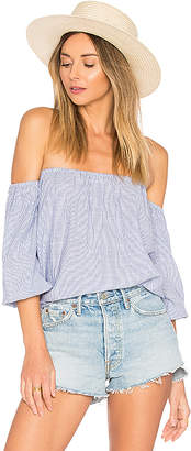 by the way. Tawny Blouson Top