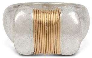 Robert Lee Morris Soho Two-Tone Coil Topper Ring