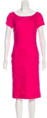 Nicole Miller Short Sleeve Midi Dress