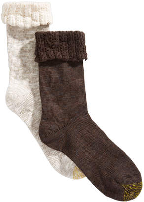 Gold Toe 2-Pk. Antiquity-Cuff Marled Socks
