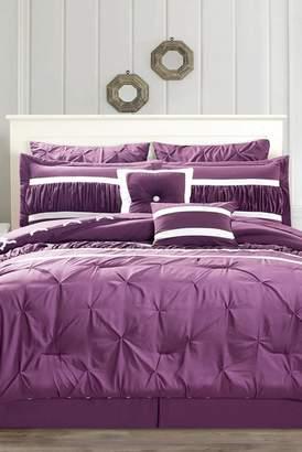 Duck River Textile Marlin 10-Piece King Comforter Set - Plum