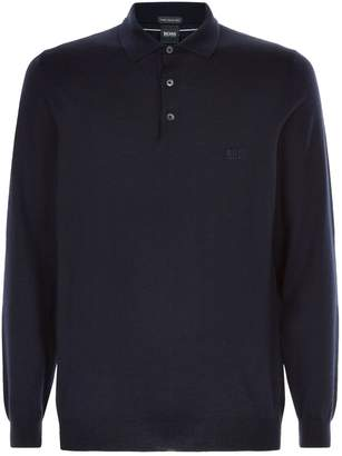 HUGO BOSS Knitted Polo Shirt