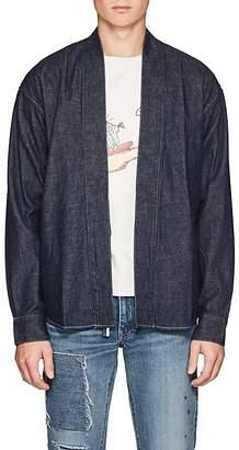 Visvim Men's Denim Kimono Shirt
