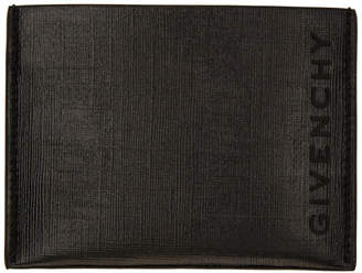 Givenchy Black Coated Card Holder