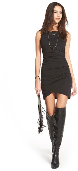Women's Leith Ruched Body-Con Tank Dress 5