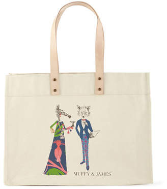 Parker Thatch Muffy & James Extra-Large Personalized Tote