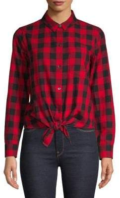 Madewell Checked Button-Down Shirt