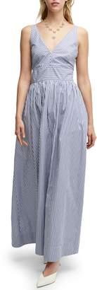 J.Crew Sleeveless Cotton Poplin Floor Length Maxi Dress