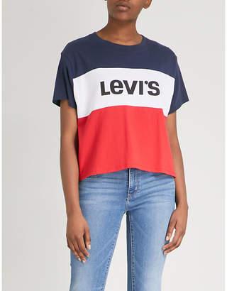 Levi's Colour Block cotton-jersey T-shirt