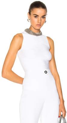 Cushnie et Ochs Sleeveless Ribbed Bodysuit