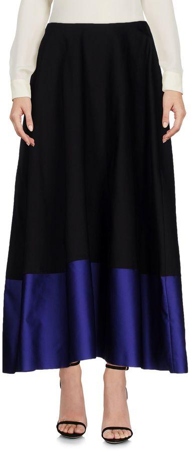 Jil SanderJIL SANDER NAVY Long skirts
